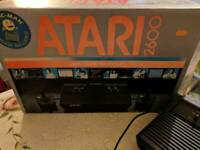 ATARI 2600 (VADER BLACK) BOXED WITH MANUALS AND PACMAN