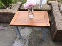 Wooden nautical side/coffee table