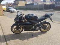 2010 r125 gear bike not cbr