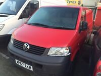 Volkswagen TRANSPORTER 2007 MODEL. 3 MONTHS WARRANTY.ONE OWNER. BRILLIANT DRIVE. 8 January 2017MOT.