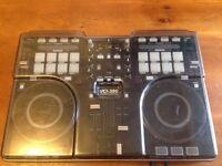 Vestax VCI-380 Digital DJ Controller with Decksaver Cover