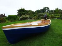 !0ft plywood dinghy.