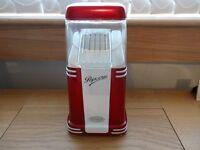 Red and White retro popcorn maker
