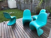 Genuine Vitra Verner Panton chairs