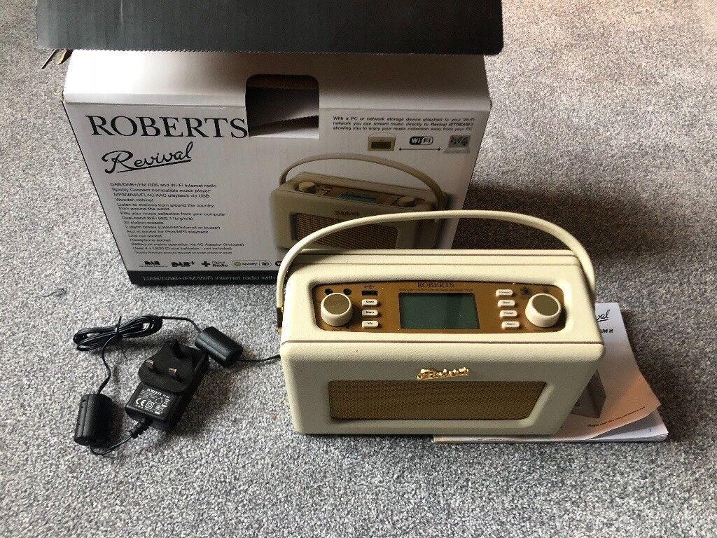Roberts Radio Revival I Stream 2 Dab Wifi Internet Fm Mint Small Condition