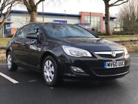 *XMAS SALE!! VAUXHALL ASTRA EXCLUSIVE *BLACK *1.6 *PETROL *FULL SERVICE HISTORY *5DOOR *P/X/DELIVERY