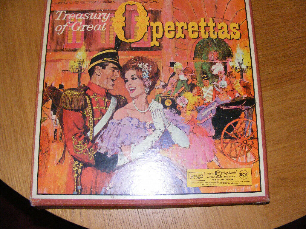 Readers Digest Treasury of Great Operettas 12 record set