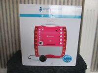 Brand New Boxed Karaoke Machine With Disco Lights