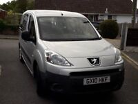2010 Peugeot Partner Tepee low mileage, wheelchair access, silver