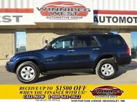 2007 Toyota 4Runner DARK BLUE PEARL SR5 V6 4X4 LOCAL TRADE, SUPE