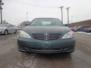 2002 Toyota Camry LE CERTIFIED