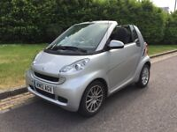 Almost Brand New - 2012 SMART FORTWO 1.0 MHD CONVERTIBLE PASSION 26K PETROL AUTO FSH LADY OWNER