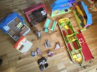 Sylvanian family bundle - girls toys age 4-10', huge bundle inc accessories house boat shop horse