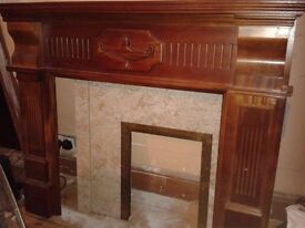 Fire Surround and Marble inset, local delivery possible
