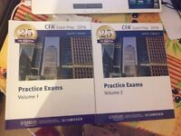 CFA Level III Schweser 2016 practice exams books