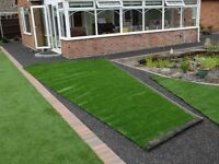 3 offcuts of good quality artificil grass