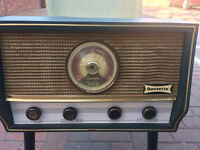 DANSETTE RG 31 RADIOGRAM ON LEGS ORIG. GUARANTEE CARD AND USER INSTR. NEEDS SERVICE HENCE PRICE