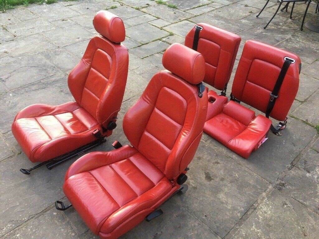 Picture of: Audi Tt Mk1 Red Leather Seat Set In Hartlepool County Durham Gumtree