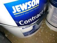 White matt emulsion Jewson 15kg