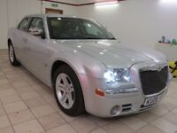 !!12 MONTHS MOT!! 2008 CHRYSLER 300C 3.0D / FULL SERVICE HISTORY / 1 PREVIOUS OWNER / SAT NAV /