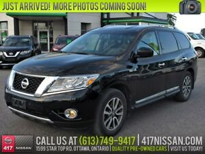 2014 Nissan Pathfinder SL | Leather, Htd Seats, Rear Camera