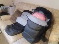 Mothercare Cossyfeet and Carrycot