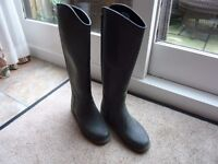 Girls Rubber Riding Boots Size 5