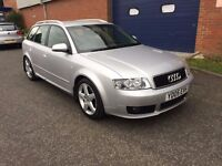 2005 AUDI A4 1.9 TDI SPORT [6] AVANT ESTATE - GMBH - BOSE - LEATHER - FULL HISTORY - SILVER - S LINE