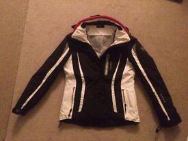 Girls Ski Jacket - Black/White