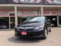 2012 Honda Civic LX AUT0 A/C CRUISE ONLY 78K