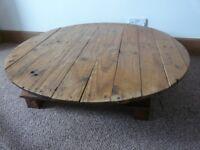 Circular coffee table for free