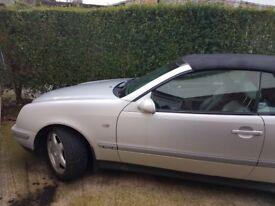 Mercedes benz clk convertible