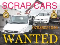 All scrap or unwanted cars Bought £££ Same day collection