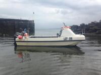 Dory 5.5 meter fishing boat