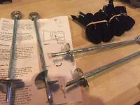 Jumpking Trampoline Tie Down Anchor Kit