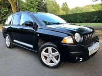 JEEP COMPASS 2.0 CRD LIMITED STATION WAGON 4x4 • FULL LEATHER•HEATED SEATS• S/HISTORY..jeep patriot