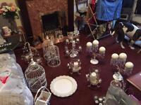 Wedding centre pieces.