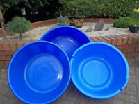a selection of 3 koi bowls.