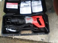Milwaukee SSD1100X sawzall d handle reciprocating saw 230 Volt corded - Brand New
