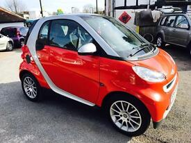 Smart coupe passion 1.0 petrol full service history