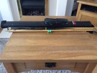 BCE custom snooker cue