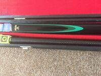 Two piece Riley pool/snooker cue