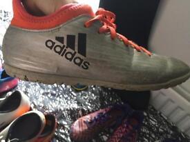 Adidas 16.3 orange and silver (Astro turf 5.5)