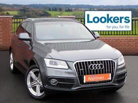 Audi Q5 TDI QUATTRO S LINE PLUS (grey) 2014-04-26