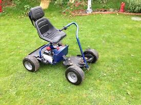 Powerkaddy discovery golf buggy