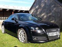 AUDI TT Coupe. Semi-Auto 2.0 petrol. Black. Very good condition.