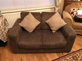 2 seater arm chair