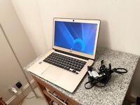 Acer CB3-431-C31R 14 inch Chromebook laptop, Intel Celeron 2GB RAM 32 GB eMMC gold Good condition