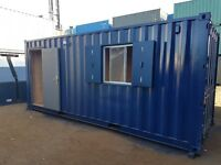 20ft Container Office / Workshop. Available from 1st APRIL 2018