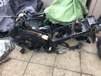Gilera runner 4 stroke frames and parts